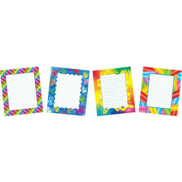 Trend Fun Designs Assortment Note Pad Pack - 6 1/2 x 7 3/4 - Pack of 4