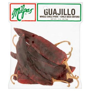 Milpas Foods Milpas Guajillo Whole Chile Pods, 2 oz