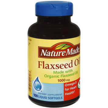 Nature Made Flaxseed Oil, 1000mg, 100ct, 3pk