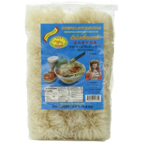 Dragonfly Oriental Style Instant Noodle, Banh Pho, 2.6-Pound (Pack of 2)