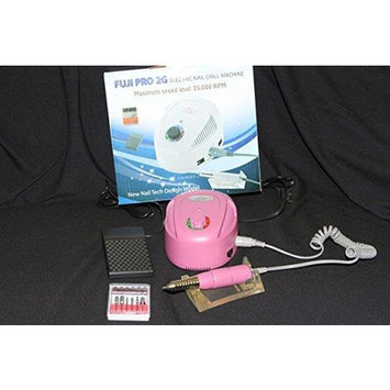 Fuji Pro 2G Pink Nail Drill System Kit 35,000 RPM