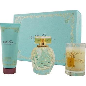 With Love Hilary Duff By Hilary Duff For Women, Set-eau De Parfum Spray, 3.3-Ounce Bottle & Body Lotion 3.3-Ounce Bottle & Candle