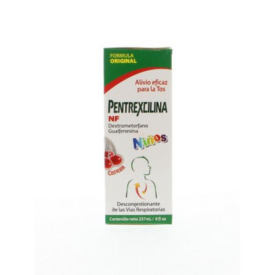Pentrexcilina Cold Relief Syrup 4 oz (Pack of 1)