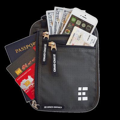 Travel Neck Wallet~Midnight
