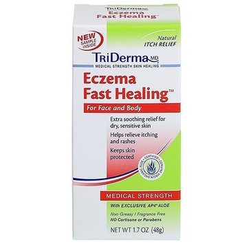 Eczema Fast HealingTM Cream For Face and Body - 1.7 oz by TriDerma