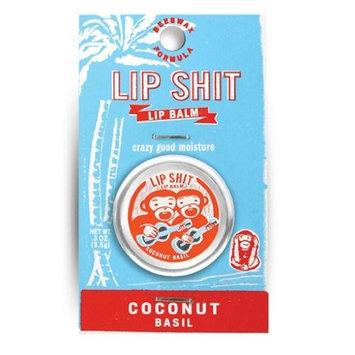 Blue Q Lip Shit Lip Balm Coconut Basil [Coconut Basil]