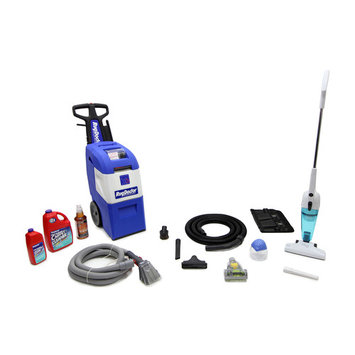 Rug Doctor X3 Carpet Shampooer With Pre-Clean kit, purifier, Black&Decker StickVac