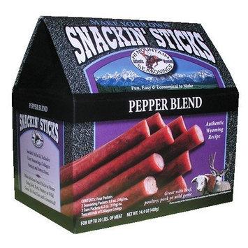 Hi Mountain Jerky Pepper Blend Snackin' Stick Kit