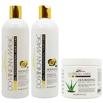 Dominican Magic Nourishing Shampoo & Conditioner & Revitalizing Hair Mask