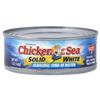 Chicken of the Sea Solid White Albacore Tuna in Water, 9 oz, (Pack of 4)