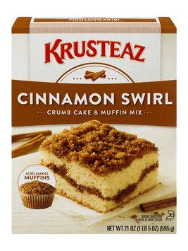 Krusteaz Crumb Cake & Muffin Mix Cinnamon Swirl