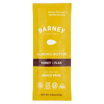 Barney Butter Honey + Flax Almond Butter Snack Pack, 0.6 oz, 24 pack