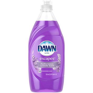 Dawn Escapes Dishwashing Liquid Dish Soap Mediterranean Lavender 19.4 oz