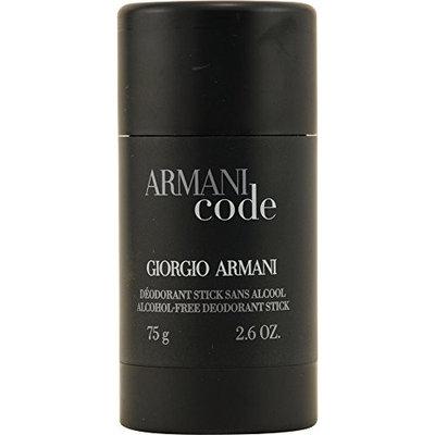 ARMANI CODE by Giorgio Armani ALCOHOL FREE DEODORANT STICK 2.6 OZ for MEN ---(Package Of 2)