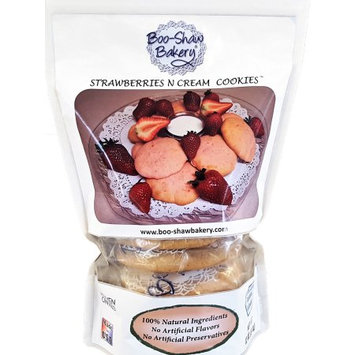 Boo-shaw Bakery Inc. Boo-Shaw Bakery All Natural Strawberries n Cream Cookies