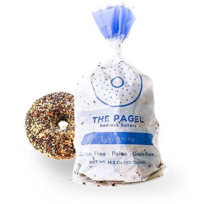 The Pagel - A Paleo-Friendly, Gluten-Free Bagel | 100% Grain Free, No Preservatives, and Taste Amazing! | 8 Pagels (Everything)