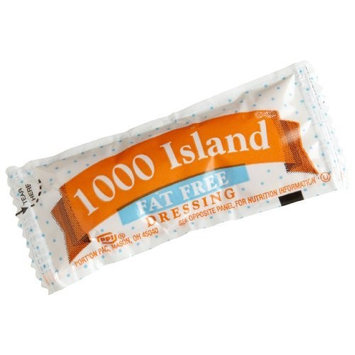 Portion Pack Fat Free 1000 Island Dressing,12-Gram (Pack of 200)