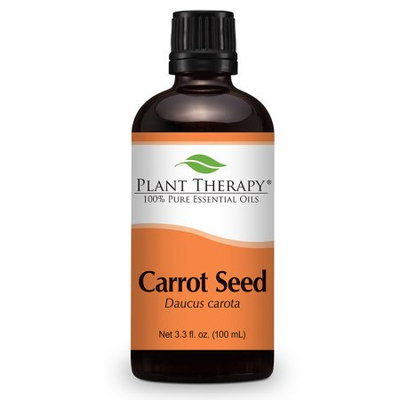 Carrot Seed Essential Oil. 100 ml (3.3 oz). 100% Pure, Undiluted, Therapeutic Grade.