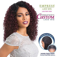 Sensationnel Synthetic Lace Front Wig Empress Edge Custom Lace Deep Wave