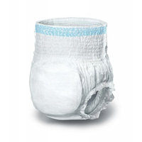 Medline Protection Plus Pull-Up Disposable Incontinence Underwear, Large - Case of 72