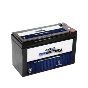 12V 9.4AH 113W Sealed Lead Acid (SLA) Battery - T2 Terminals by Zipp Battery - ZB-S00124-00000
