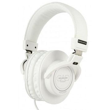 CAD Audio MH210 Closed-Back Studio Headphones, 15Hz-22kHz Frequency Response, 40mm Neodymium Drivers, White