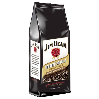 White Coffee Jim Beam Broubon Vanilla Single Serve 18 Count
