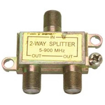 Av Two-Way Splitter 75 Ohm 852106 National Brand Alternative Misc. Wire 852106