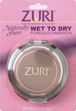 Zuri Naturally Sheer Wet to Dry Powder Foundation Caffe Latte