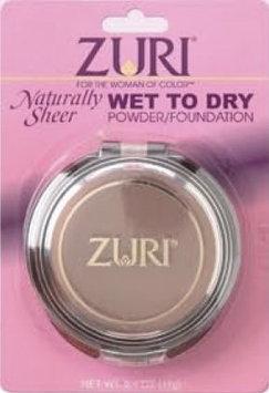 Zuri Naturally Sheer Wet to Dry Powder Foundation Caffe Latte
