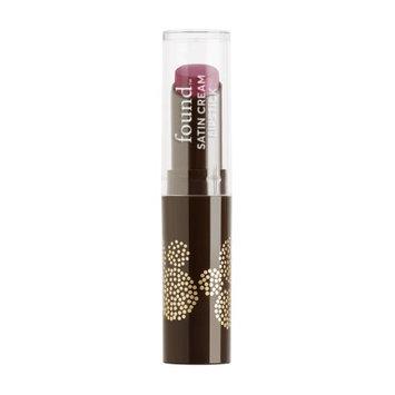 FOUND Lip Satin Cream Lipstick with Meadowfoam Seed Oil, 135 Hibiscus, 0.1 Fl Oz