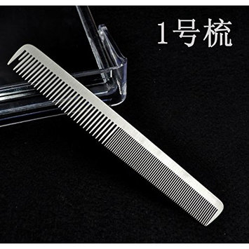 Feiye wild 304 stainless steel metal hair comb, hair comb, personal care comb, anti-static comb (2025-6)