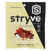 Gourmet Beef Protein Biltong Zesty Garlic - 2.25 oz.