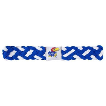 Little Earth Kansas Jayhawks Braided Headband