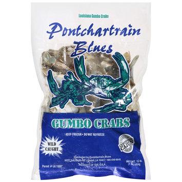 Pontchartrain Blues Frozen Gumbo Crabs, Wild Caught, 16 oz