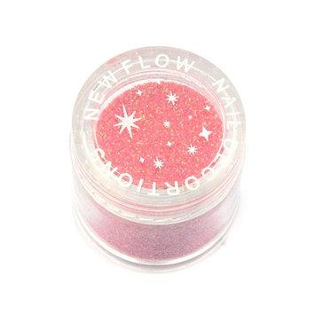 Elite99 Shining Colors Acrylic Powder Builder Nail Art Set Glitter Powder Dust Tips DIY Decoration Tools Orange [Orange]