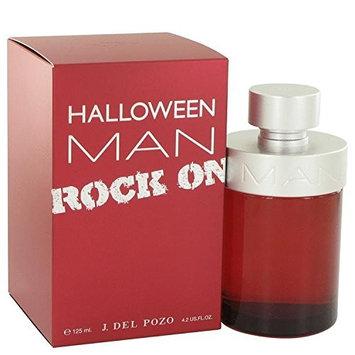 Halloween Man Rock On by Jesus Del Pozo Eau De Toilette Spray 4.2 oz for Men - 100% Authentic