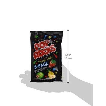 Pop Rocks 3 Pack 12 Units Per Box Assorted Flavors,8.88 OZ