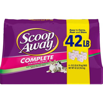 Scoop Away Complete Performance Clumping Cat Litter, 42 lbs.