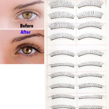 Image 10Pair Long False Eyelashes Handmade Natural Eye Lashes for Makeup