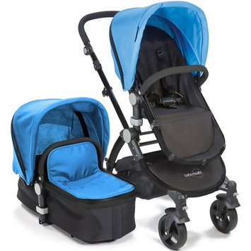 Baby Roues Canvas Collection Black Frame Baby le Tour II In Blue