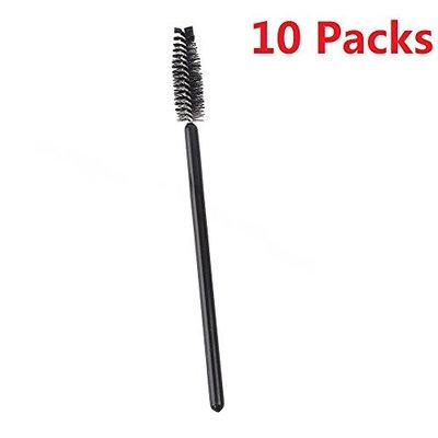 EVERMARKET(TM) Disposable Eyelash Mascara Brushes/Wands - 10 Packs