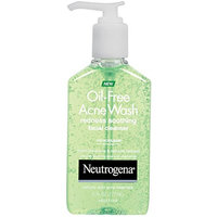 2 Pack Neutrogena Oil-Free Acne Wash Redness Soothing Facial Cleanser 6 oz Each