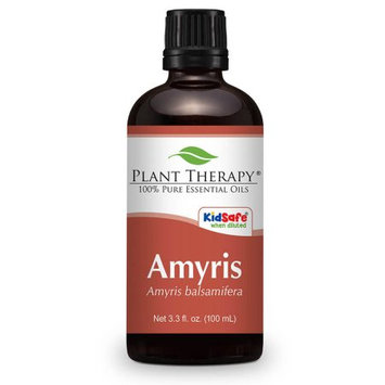 Plant Therapy Essential Oils Amyris Essential Oil 100 ml 100% Pure, Undiluted, Therapeutic Grade