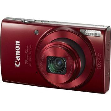 Canon - Powershot Elph190 20.0-megapixel Digital Camera - Red