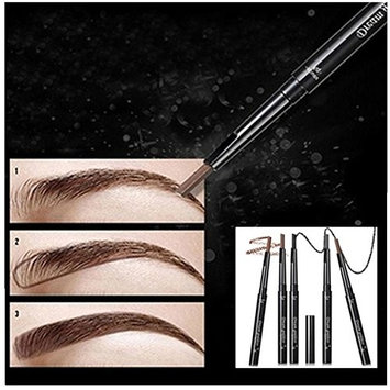 Bestpriceam 1 PC Pro Waterproof Automatic Womens Eyebrow Pencil (Light Coffee)