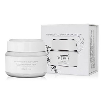 Vivo Per Lei Amino Body Firming Cream with Retinol Palmitate and Collagen, Keeps Skin Fresh and Flawless, 109 g/ 3.84 oz
