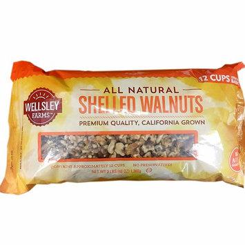 Wellsley Farms Shelled Walnuts, 3 lbs.