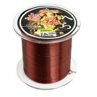 0.234mm Dia 6.5Kg Burgundy Nylon Freshwater Fishing Line Thread Reel 2.0