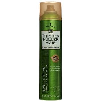 6 Pack - Thicker Fuller Hair Weightless Volumizing Hair Spray 8 oz (236 ml) Each